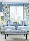 Thibaut Haven Fabric in Spa Blue